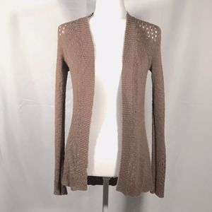 Light Brown Knit Cardigan